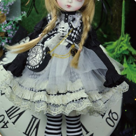 CMD000047 Black DreamRabbit MSD Ver.